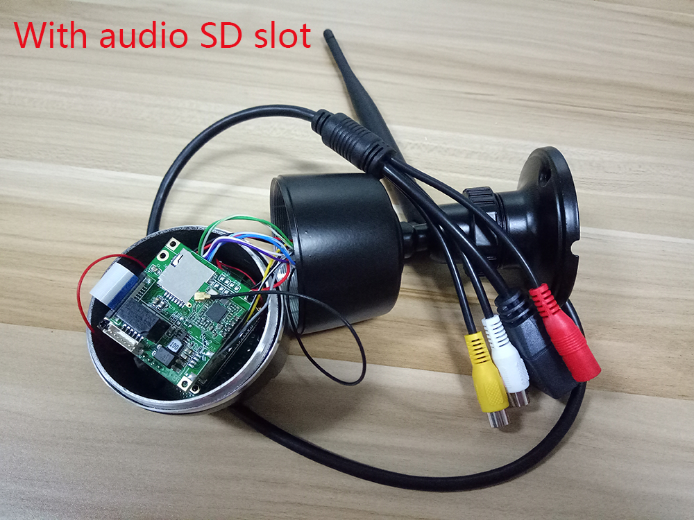 With audio SD slot