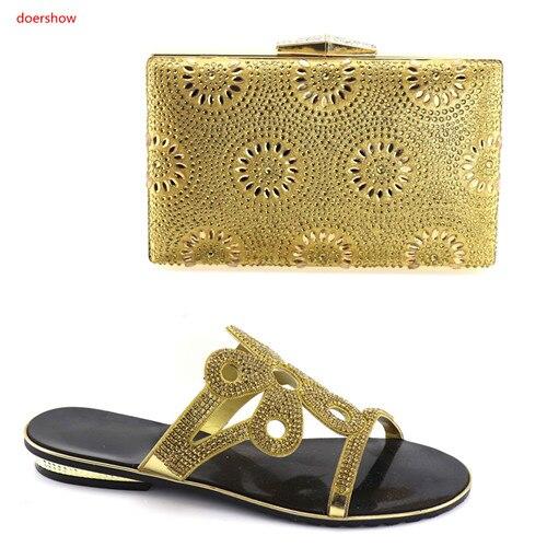 Assorties Africain De bleu Sbv1 Femmes Sacs Et Royal Chaussures 9 Strass Italien Dans Décoré pourpre Goldmatching Sac Doershow Or Ensemble Avec vgnBPP
