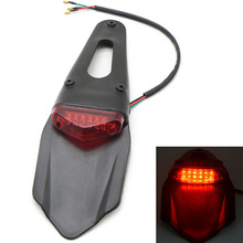 Motorcycle Enduro Trial Bike Fender Rear LED Taillight  Dirt Brake Stop Tail Light for CR CRF DRZ YZF WRF KTM EXC