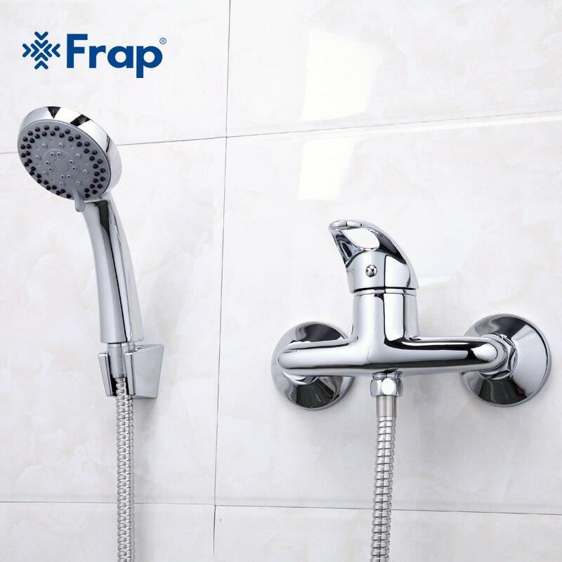 Frap 1 компл. простой стиль душ кран, кран для ванной холодной и горячей воды смеситель для душа Одной ручкой Torneira F2003