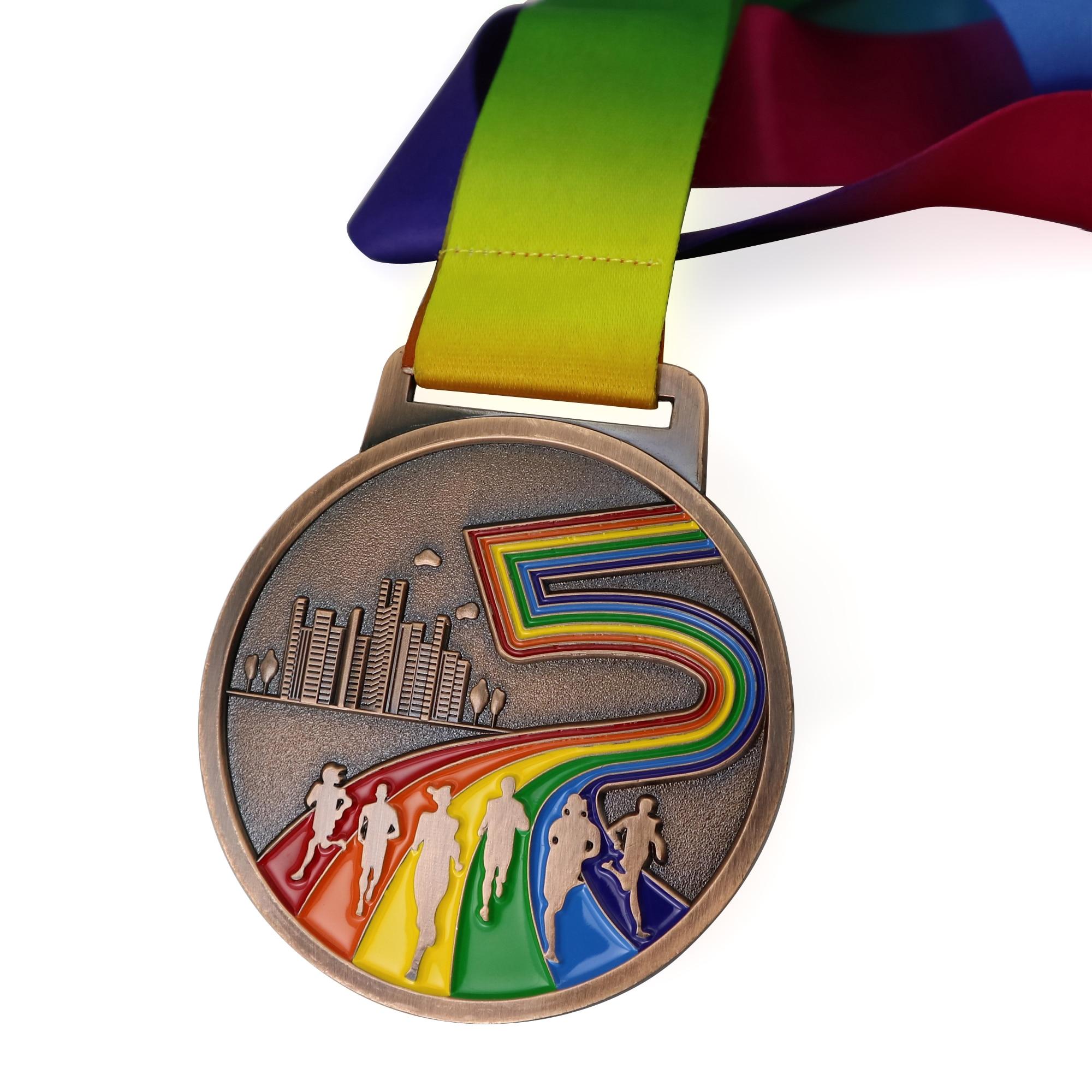 2 Gold 26.2 Marathon Race Medal Award with Free Custom Engraving Prime Marathon Medals