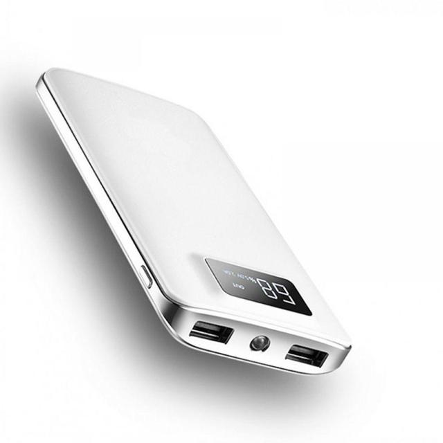 30000mAh Power Bank External Battery LCD Screen Display Portable powerbank Dual USB poverPhone Charger For iPhone xiaomi huawei