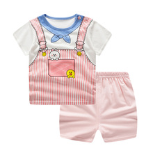 Baby Boy Clothes Base ball Sport Clothing Tracksuit Tshirt with Shorts Toddler Clothing Sets