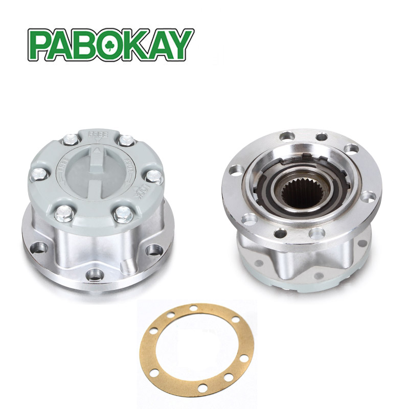 2 pieces x for SUZUKI SJ410SJ413 Samurai Sierra Gran Vitara JIMNY Free Wheel Locking hubs B039