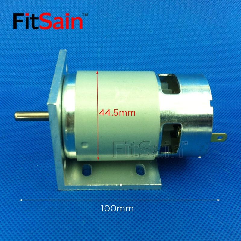 FitSain - silnik 775 ze wspornikiem Wał 24 V DC 8000 obr./min 5 mm - Akcesoria do elektronarzędzi - Zdjęcie 2