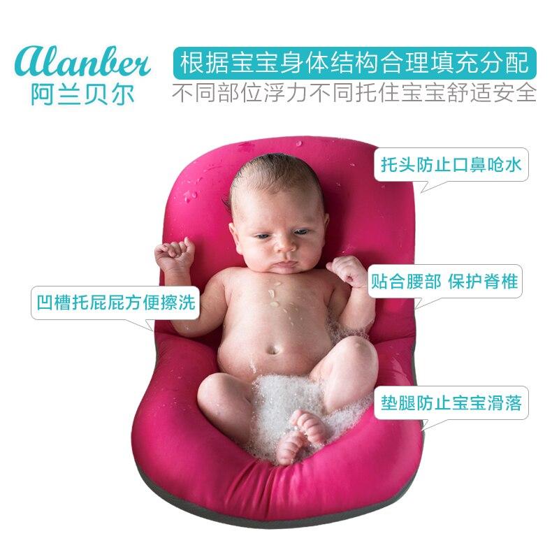 Bebé recién nacido marco ducha antideslizante alfombra de baño ...