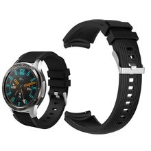 22mm silicone wristbands for Huawei watch GT/Honor Magic man sport smart watch bracelet band For Huawei Watch GT active strap huawei watch active black mercury g01