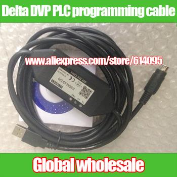 1 sztuk USBACAB230 port USB do Delta rozrachunku typu dostawa za płatność PLC kabel do programowania komunikacji PLC kabel do pobierania danych dla Delta tanie i dobre opinie Nzluliyuan USBACAB230 USB for Delta DVP PLC programming cable