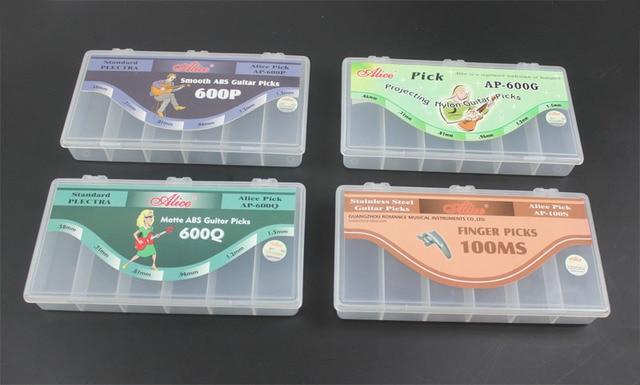 Merveilleux 6 Grid Large Guitar Picks Pick Plectrum Hussif Fishing Bait Case Storage  Box Organizer Container