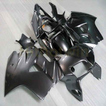 Custom motorcycle ABS Fairing for VFR800 1998 1999 2000 2001 VFR 800 98-01+5Gifts+Matte Black bodywork