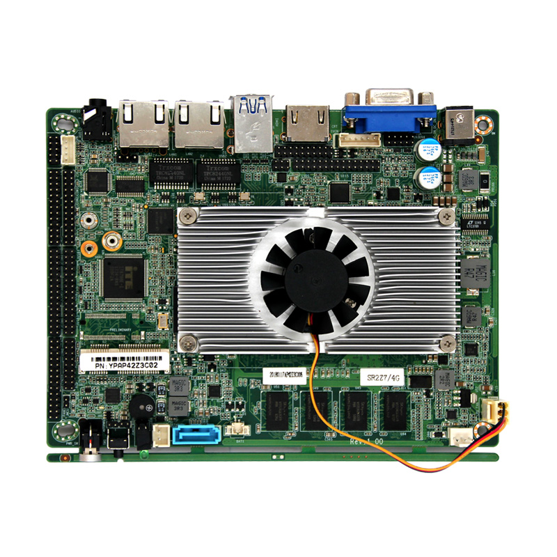 Z-3.5 inch motherboard onboard 4G DDR3 with 6 com support Apollo lake series N4200 processor