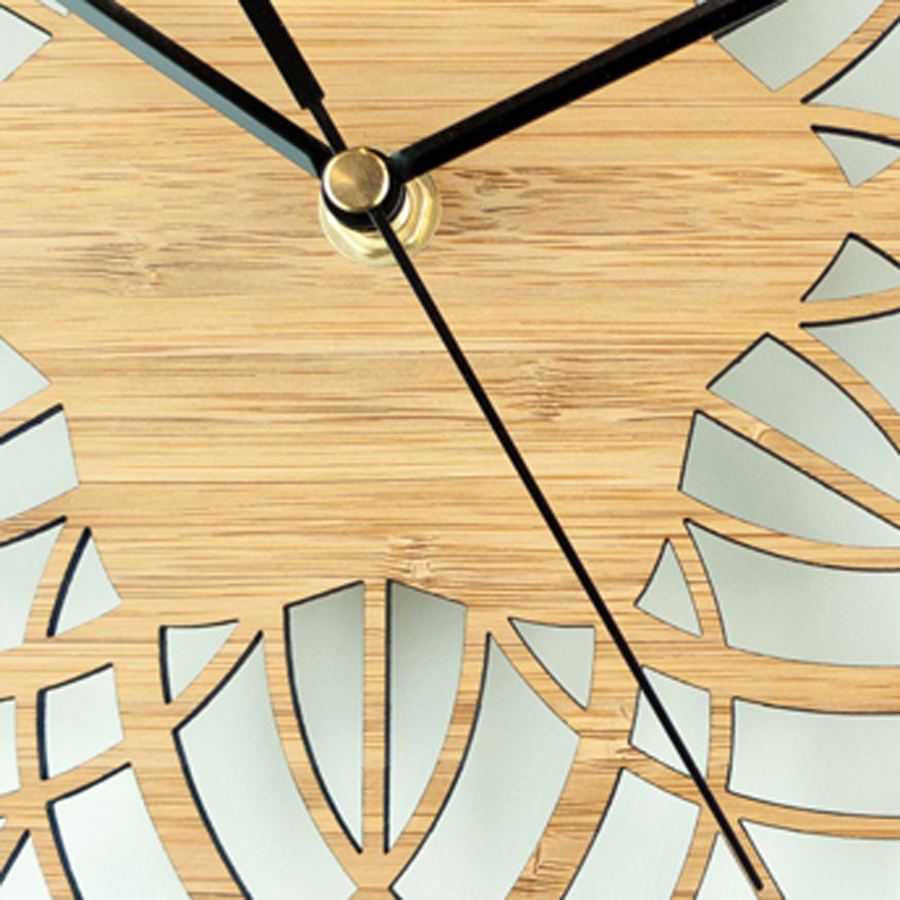 Wooden Wall Clock Simple Modern Design Decorative Living Room ...
