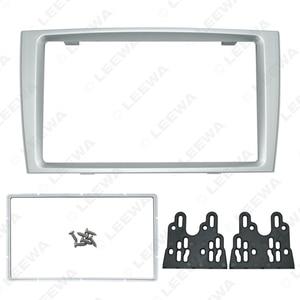 Image 2 - LEEWA Car Double Din DVD Radio Fascia Frame for PEUGEOT 308/408 Dashboard Panel Mount Installation Adapter Trim Kit #CA5191