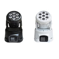 1 Pieces Led Stage Light RGBW Mini Moving Head Light Disco Party Night Club Pub Bar