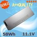 """11.1 V 58Wh nueva A1278 A1280 batería Del Ordenador Portátil para Apple MacBook 13 """"MB467 */A A1278 MB466J/un (Versión 2008)"""
