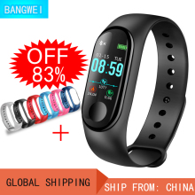 LIGE Smart Watch Men Fitness Bracelet Heart Rate Blood Pressure Oxygen Sleep Monitor Pedometer Sport Watch For Android IOS + Box smart bracelet band heart rate sleep monitor blood pressure oxygen oximeter sport bracelet calorie watch intelligent ios android