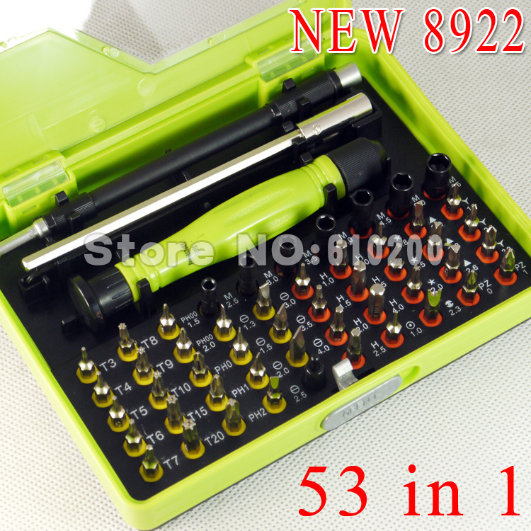8921 NEW Upgrade 8922 53 in1 Multi-purpose precision Screwdriver Set for pc Notebook phone open Family repair disassembly tools цены