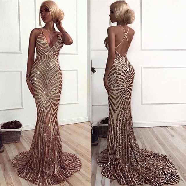 Abiye пикантные вечерние платья 2019 длиной в Пол; с вышивкой бисером Хрустальная Русалочка Выпускные вечерние праздничные платья robe de soiree