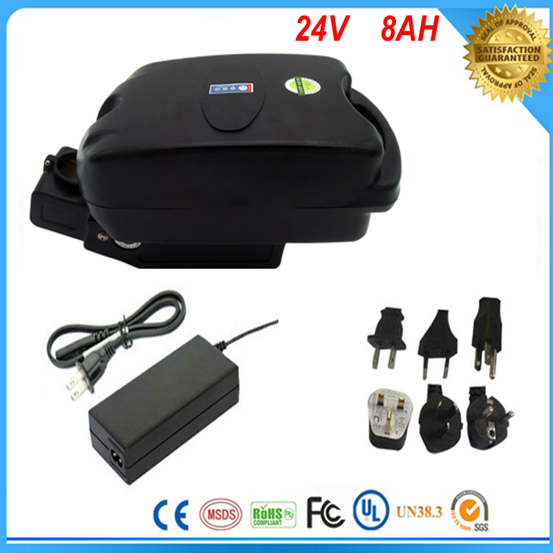 Free customs taxes frog case ebike battery 24v 8ah lithium ion battery with charger and bms free customs taxes 1000w motor electric bike lithium ion battery 48v 25ah with 54 6v charger and bms factory price great quality