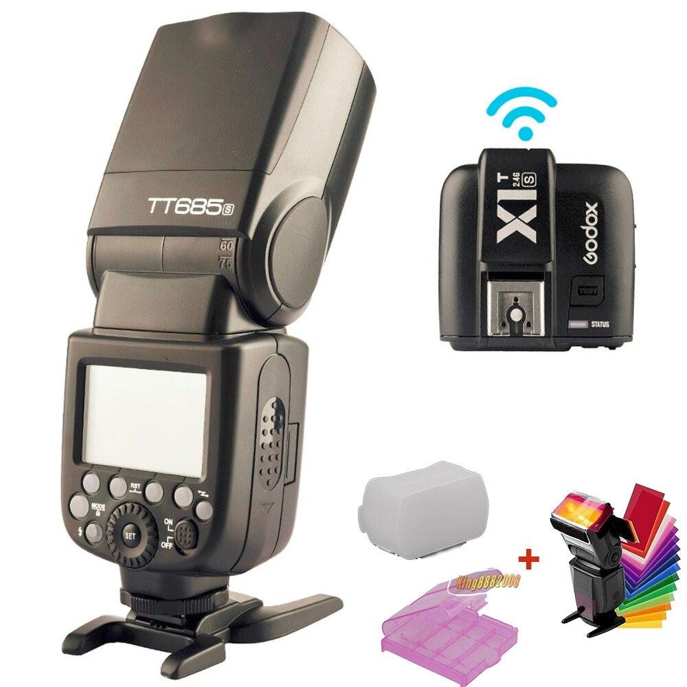 Godox TT685S 2.4G HSS TTL GN60 Flash Speedlite + X1S - Kamera och foto