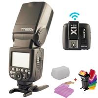 Godox TT685S 2.4G HSS TTL GN60 Flash Speedlite+ X1S Trigger Transmitter Kit for Sony A58 A7RII A7II A99 A7R & Gift