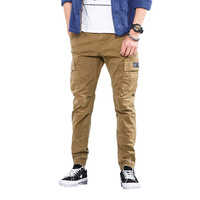 2018 Spring Casual Pants Men Hip Hop Cargo Pants High Quality Male Trousers Brand Harem Stretch