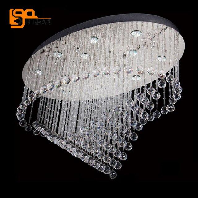 Wunderbar Neue Oval Design Decke Kristall Kronleuchter LED Kristall Deckenleuchte Moderne  Wohnzimmer Leuchten