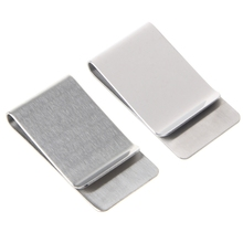 Slim High Quality Money Clip Credit Wallet New Stainless Steel
