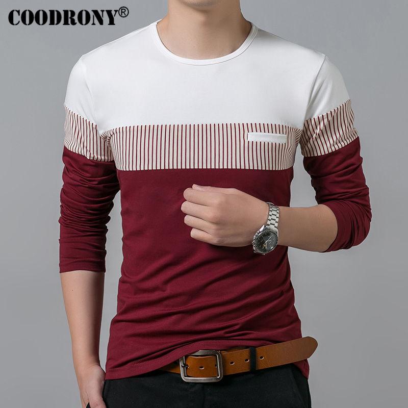 New Long Sleeve O-Neck T Shirt Clothing Fashion  Cotton 1