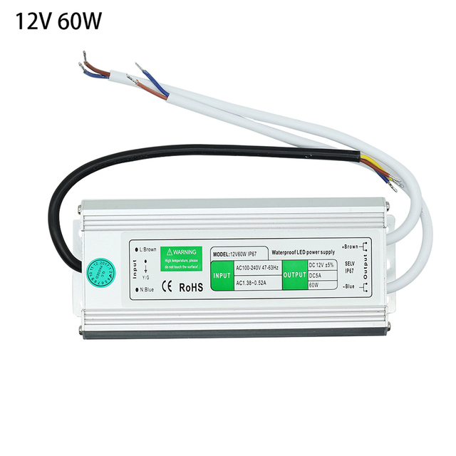 ac110 260v to dc12v 24v 10w 120w ip67 waterproof led driver outdoorac110 260v to dc12v 24v 10w 120w ip67 waterproof led driver outdoor transformer