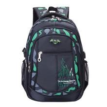 Горячие новые дети школьные сумки для подростков мальчики девочки большой емкости рюкзак водонепроницаемый ранец дети рюкзак ранцы mochilas
