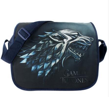 Game of Thrones Bag Anime Cosplay Shoulderbag Backpack Bag Travel Bag Computer Package аксессуары для косплея neko cosplay