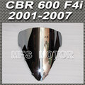 Motorcycle Silver Windshield/Windscreen For Honda CBR 600 F4i 2001 2007 05 06