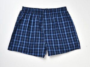 Image 3 - Underwear Men Boxer Plaid Underpants Cotton Shorts Men Striped Panties Loose High Quality Russian Size Breathable Dropshipping