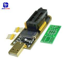 USB مبرمج CH341A سلسلة 24 EEPROM الكاتب 25 SPI فلاش بيوس لوحة تركيبية USB إلى TTL 5 فولت-3.3 فولت محرك سائق البرمجيات