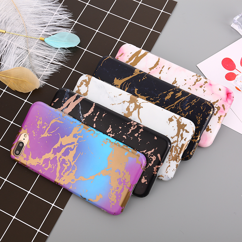 Colorful Marble Stone Phone Case for iPhone 6 Plus Case 6S 6 7 8 Glossy Soft TPU Cover for iPhone 7 Plus for iPhone 8 Plus Case
