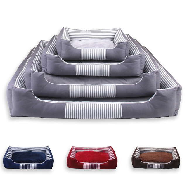 Pet Products for Large Dogs Puppy Dog Bed Mat for Canvas Detachable and Washable Warming Cat House Petshop Sofa Bedding