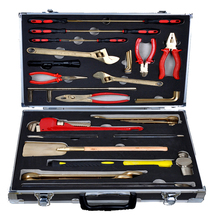 Antiscintilla instruments of combination sets – 36 pcs, copper alloy hand tools, ex proof and safety 1pc