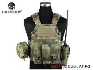 Image 4 - Emersongear LBT 6094 Áo Khoác Chiến Thuật Giáp Thân Với 3 Túi Săn Bắn Airsoft Quân Sự Chiến Đấu Gear EM7440 AOR Kaki Mandrake