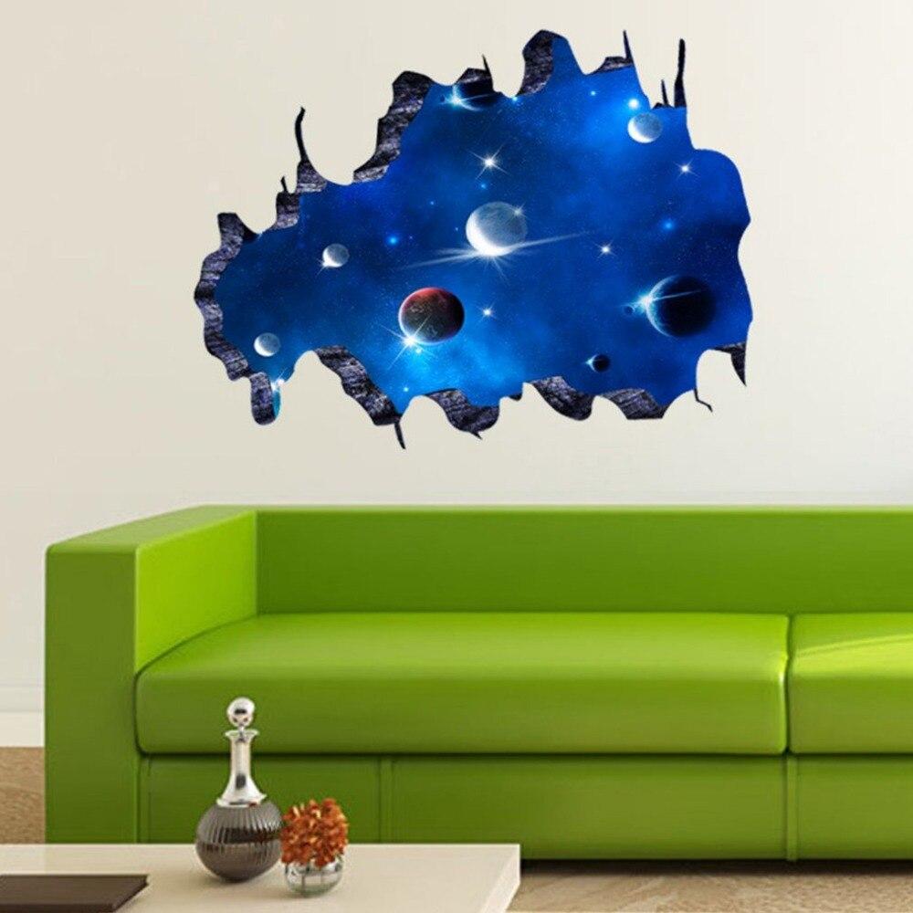esterno pianeti acquista a poco prezzo esterno pianeti lotti da 58 70 cm pvc impermeabile outer space pianeti wall stickers 3d per soggiorno camera da