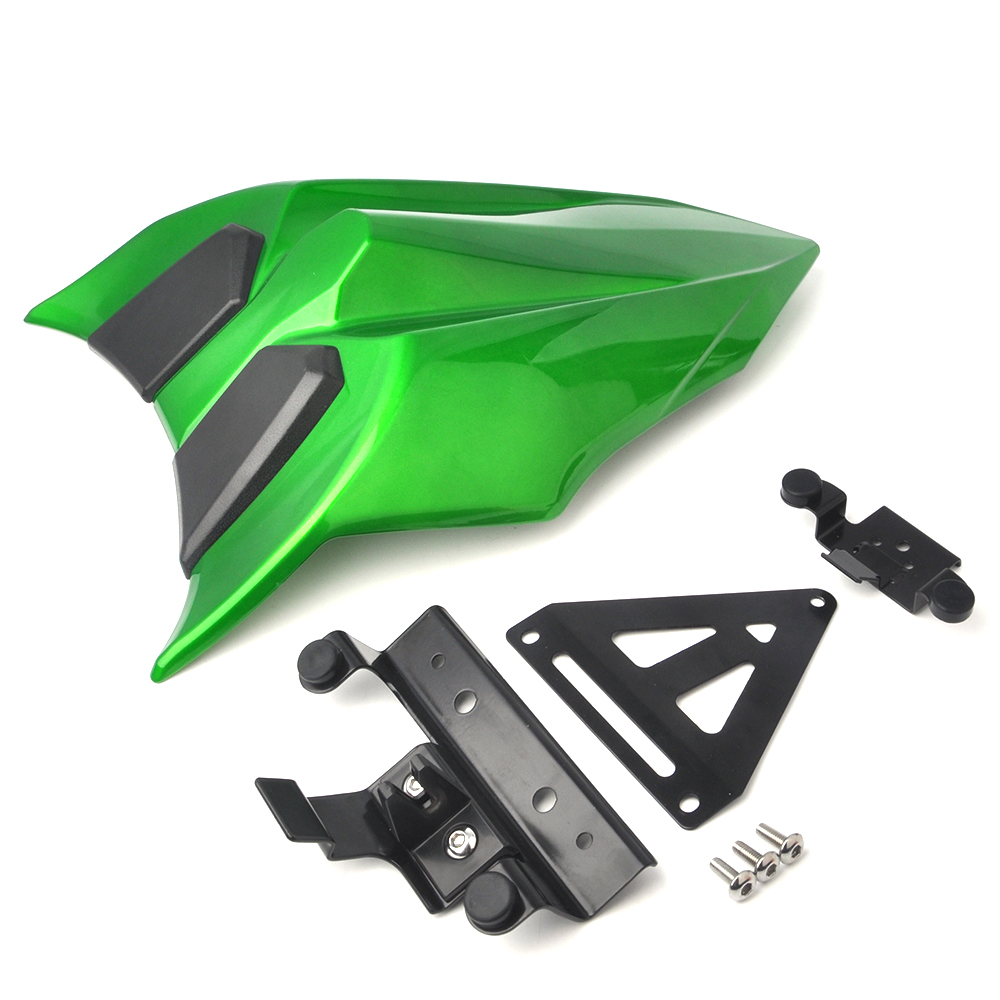 KEMiMOTO Seat Cowl Cover For kawasaki Ninja650 Z650 Ninja 650 Z 650 2017 Tail Cover Motorcycle Accessories Parts with PP pad