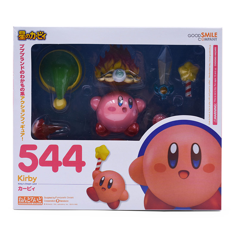 Anime Cute Dream Land Kirby Nendoroid 544 PVC Action Figure Model Toy Christmas Gift For ChildrenAnime Cute Dream Land Kirby Nendoroid 544 PVC Action Figure Model Toy Christmas Gift For Children