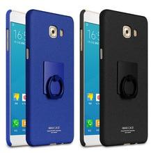 Спс Samsung Galaxy C7 Pro Случае 5.7 дюймов imak ковбой Для Samsung Galaxy C7 Pro Жесткий PC Задняя Крышка Крышка С Кольцом держатель