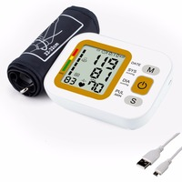 STRIKATE Oximetro Upper arm Blood Pressure Digital Meter of blood Pressure USB charger Type Blood Pressure Meter With Cuff