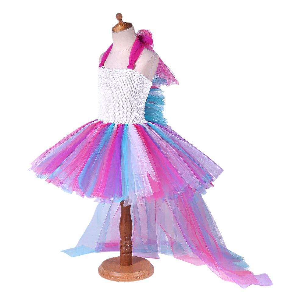 Cutestyle Mädchen Tutu Kleider Einhorn Party Kleid Für Kinder ...