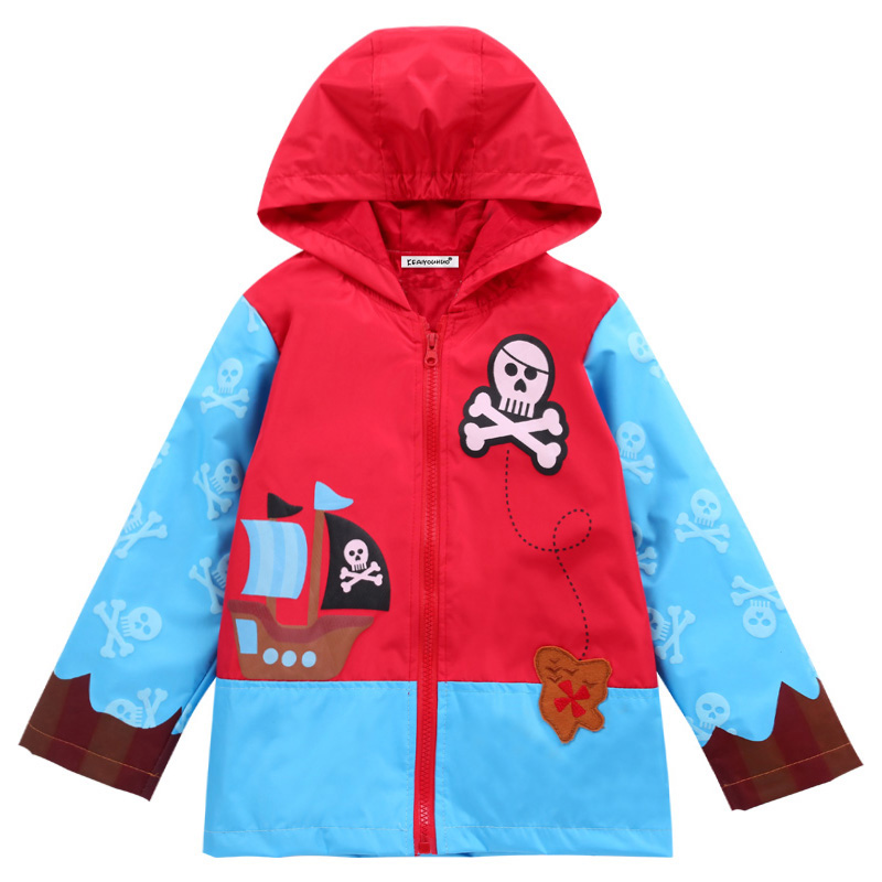 2018 Herbst Mädchen Mäntel Pullover Oberbekleidung Sweatshirt Jacken Für Jungen Kinder Kleidung Kinder Lange Regenmantel Kleidung 2 4 5 6 Jahre
