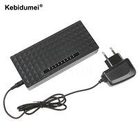 Kebidumei 8 Port Network Gigabit Switch 10/100/1000Mbps Fast Ethernet Switcher Lan Hub Full/Half Duplex Exchange