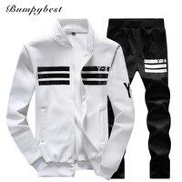 Bumpybeast 2017 New Men Winter Autumn Spring Men Sportswear Jackets Pants Men S Clothing Sets Complet
