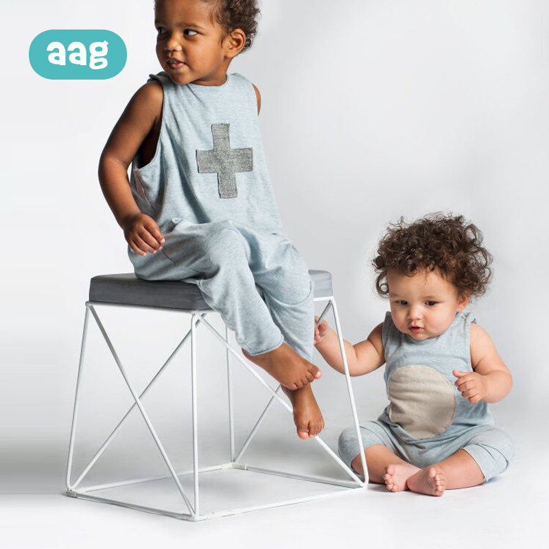 AAG Child Boy Lady Garments Jumpsuit Trousers Kids Clothes Leisure Road One Piece Harem Pants Youngsters Clothes Set Overalls Zero Clothes Units, Low-cost Clothes Units, AAG Child Boy Lady...