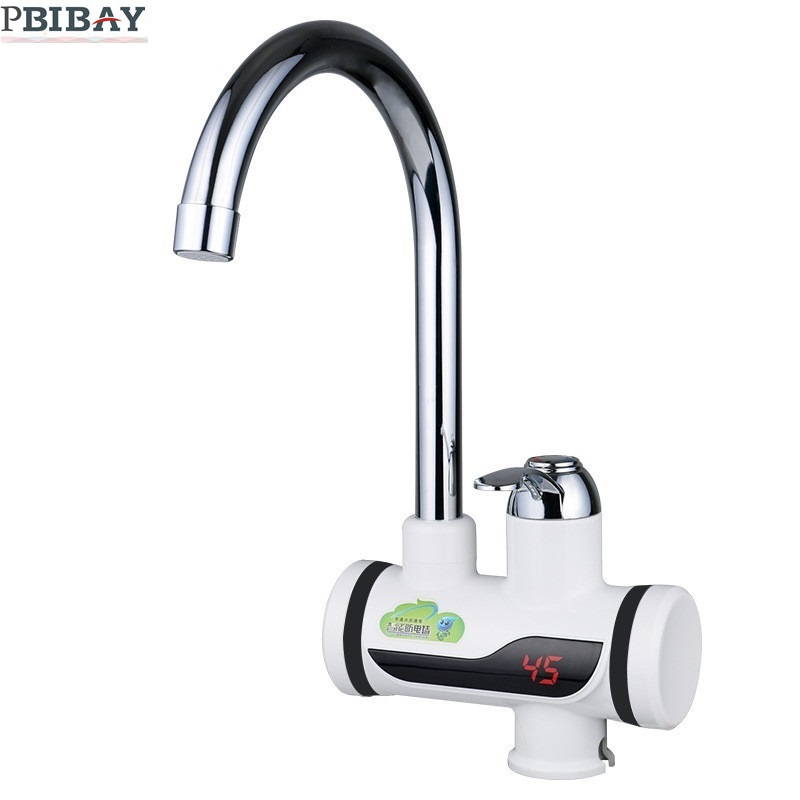 BD3000W-1,free shipping,Digital Display Instant Hot Water Tap,Tankless Electric Faucet,Kitchen Faucet Water Heater